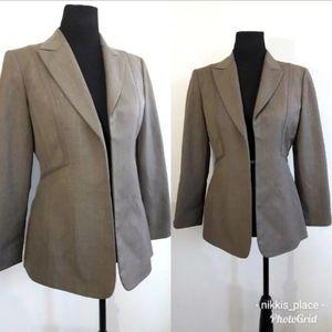 KASPER Petites Women's Size 4P Open Blazer Jacket